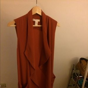 H&M's Sleeveless trench kimono. Comes with string